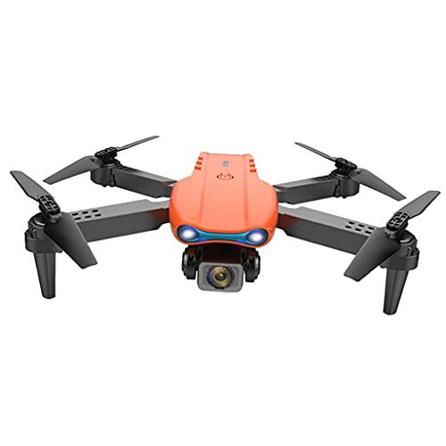 sharprepublic Bracci Pieghevoli WiFi Controllo Dell'applicazione 2.4G RC Drone 4K Videocamera Tempo Reale Video Live Altitudine Hold 3D Gesture Gesto Gesto LED Luci - Fotocamera 4K Arancione