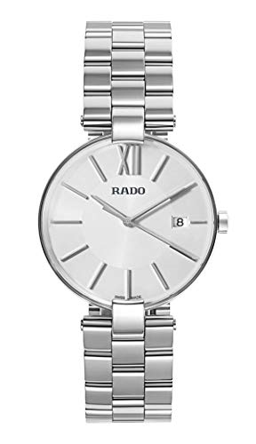 Rado Coupole Silver Dial Date Stainless Steel Quartz Womens Watch R22852013
