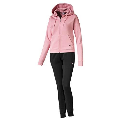 PUMA Damen Classic Hd. Sweat Suit, cl Trainingsanzug,rosa(Bridal Rose),M