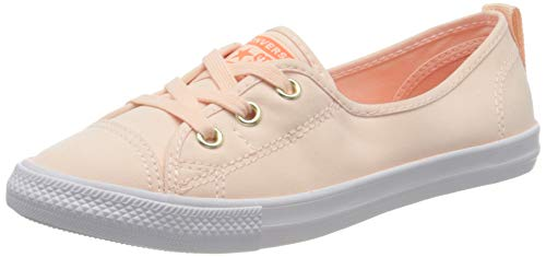 Converse Chucks Ballerina 564313C Dainty All Star Ballet Lace Rosa Washed Coral Turf Orange, Groesse:37.5 EU / 4.5 UK / 6.5 US / 24 cm
