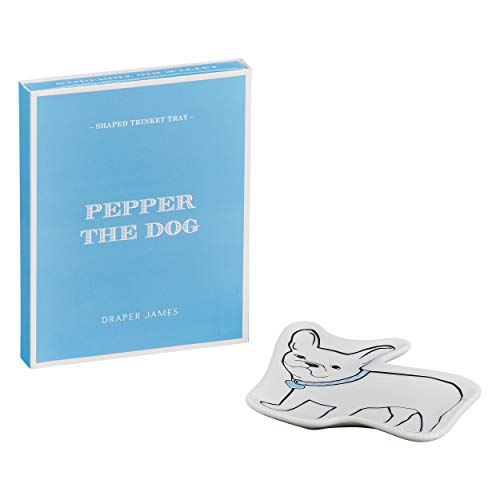 Draper James Pepper The Frenchie Accent Trinket Tray