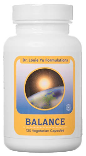Dr. Louie Yu Formulations Balance All-Natural Relief for Symptoms of Irritable Bowel Syndrome (IBS) Including Bloating, Constipation, Gas, Diarrhea   Supports Digestive Health   120 Veg Capsules
