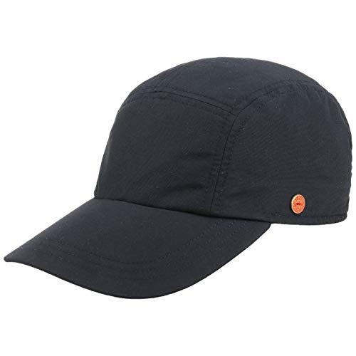 Mayser Mütze Kappe Riccardo Sunblocker Cap Sportcap Fullcap (58 cm - dunkelblau)