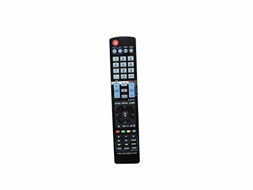 Controle remoto de substituição universal HCDZ para LG BD520 BD530 AKB73295901 AKB72975301 Network Blu-Ray BD DVD Disc Player