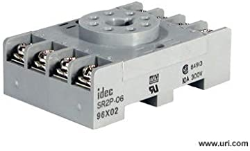 Idec Socket Din Mount Screw Type Sr3p06