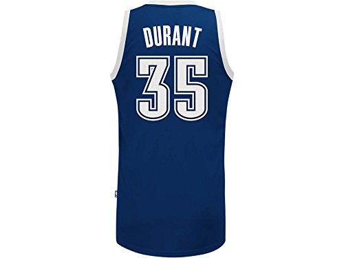 NBA Oklahoma City Thunder Kevin Durant #35 Youth Swingman Alternate Jersey, Large