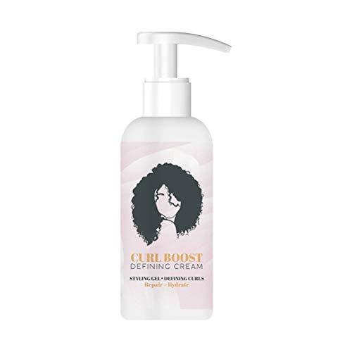 Curl Boost Defining Cream,Moisturising Defining Butta,Curly Hair Treatment, Lightweight Curl Defining Cream Curl and Style Curl Definition (1PCS)