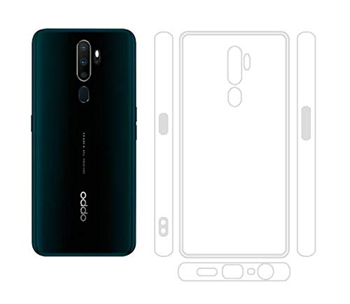 Oppo A5 2020, Oppo A9 2020 透明 ソフト TPU ケース