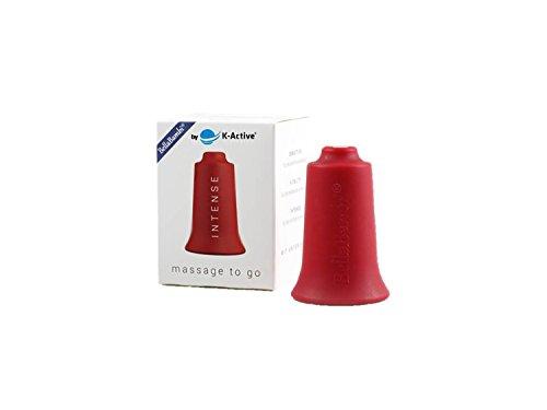 BellaBambi® Schröpfcup by K-Active INTENSE original für die Unterdruckmassage | rot| Ø 3,5 cm