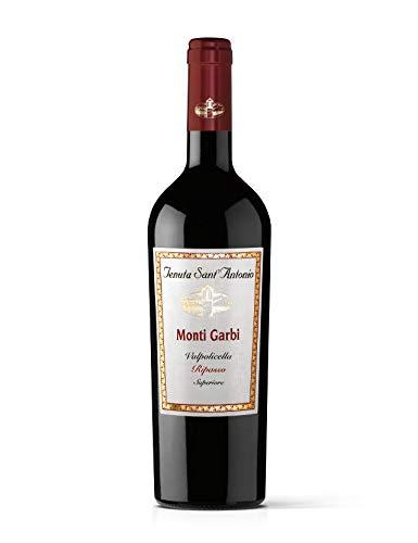 Monti Garbi Valpolicella Superiore Ripasso DOC 2017 Tenuta Sant`Antonio, trockener Rotwein aus Venetien