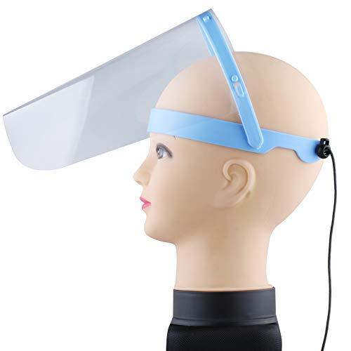 Visier Gesichtsschutz verstellbar - Klappvisier aus robustem Kunststoff – Face Shield – Schutzschild Gesicht - Made in EU (1)