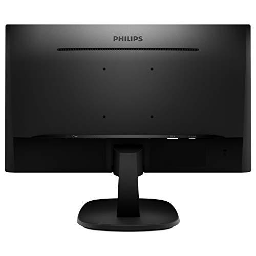 Philips V Line 243V7QSB/00 60,5cm (23,8 Zoll) Monitor (Flachbildschirm von PC, VGA, DVI, 250cd/m², 1920x 1080Pixel, 8ms, LED, Full HD, ohne Lautsprecher)