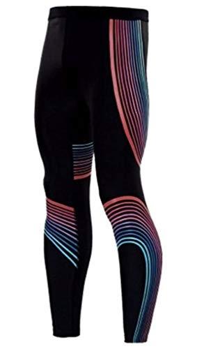 Moit Kompressionshose für Herren, Muskel-Training, Strumpfhose, Fitnesshose, Yoga, Leggings, Sport Jogginghose Gr. M, 1