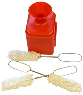 Auto Supplies Direct Straight Lube Bucket for Coats Changers with 3 Lube Swabs 11.5