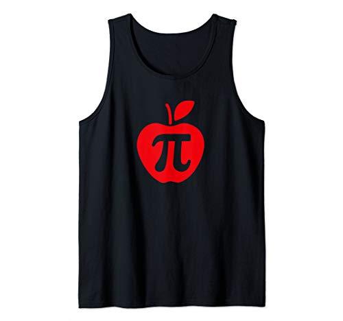 Apple Pi Day Shirt, Funny Math Nerd Pie Teacher 3.14 Tshirt Tank Top