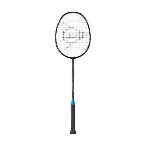 Dunlop Sports Nanoblade Savage Pro II Badminton Racket, Grey/Blue