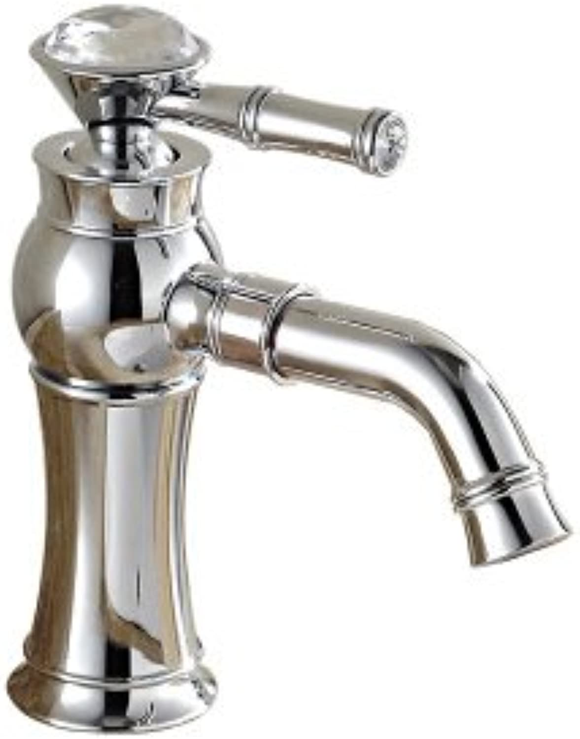 ETERNAL QUALITY Bathroom Sink Basin Tap Brass Mixer Tap Washroom Mixer Faucet Hot and cold basin gold kitchen faucet hot and cold basin A plated low Kitchen Sink Taps