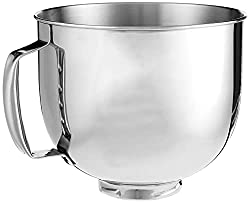 powerful Cuisinart 5.5 Quart Mixing Bowl, Stainless Steel