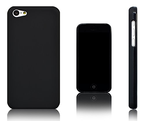 Xcessor Vapour Flexible TPU Gel Case for Apple iPhone 5C. Black (Black)