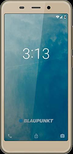 Blaupunkt SM 02 Smartphone 3G 5,0 Zoll 8 GB (Gold) ohne Simlock, ohne Branding, ohne Vertrag