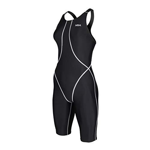 NSA Knielanger Schwimmanzug, Größe:2XS (116-128)