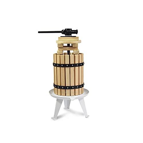 SQUEEZE master Fruit Apple Cider Wine Classic Press- 1.6 Gallon/6L-Solid...