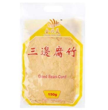 Chuan Heng Bee Dessert Beancurd in Stücken, 150 g, hergestellt aus kanadischer Sojabohne, am besten für chinesische Desserts.