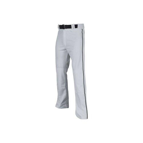 Champro dicken Pro-Plus Unterseite offen Baseball Hose mit Paspelierung, Herren, grau/schwarz, Medium
