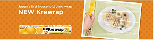 KUREHA NKW65SQFT NEW Krewrap Plastic Food Wrap, 65 Sq Ft, Clear
