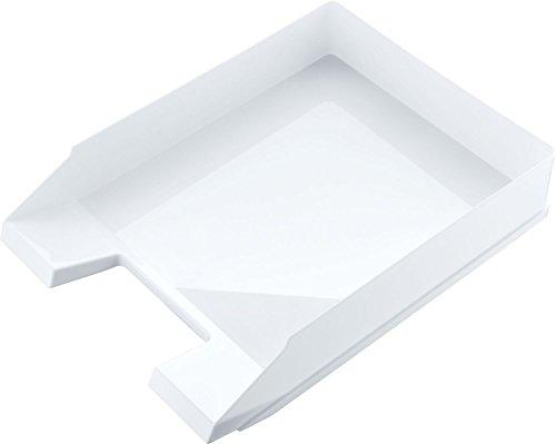Helit H2361505 - Briefablage, DIN A4 C4, hochglanz/weiß