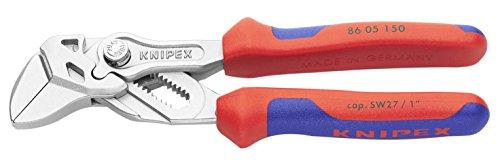 Knipex Mini-Zangenschlüssel Zange und Schraubenschlüssel in einem Werkzeug 150 mm