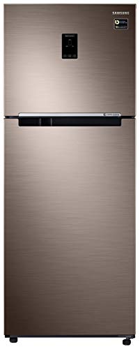 Samsung 394 L 2 Star Inverter Frost-Free Double Door Refrigerator (RT39R5588DX/TL, Refined Brown)