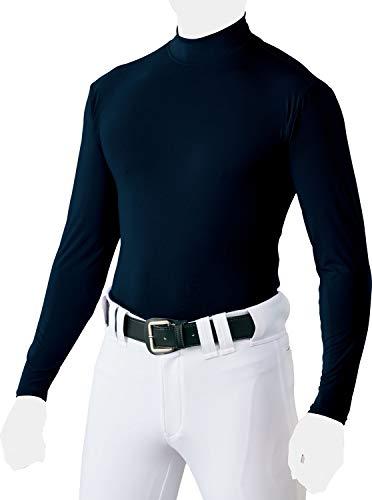 ZETT(ゼット) 野球 ハイネック長袖アンダーシャツ BO8820 ネイビー(2900) S
