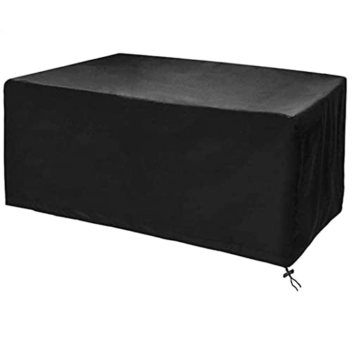 Patio Furniture Covers Rectangular Patio Furniture Covers, 300D Oxford Polyester Material Windproof, Anti-UV,Durable Waterproof Dustproof Outdoor Cover for Garden
