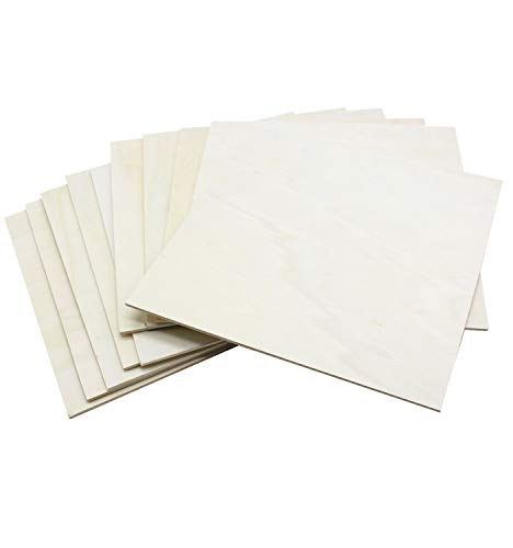 RIVERKING thin wood sheets,poplar wood sheet,Squares Wooden plywood ,balsa diy particle mdf board for...