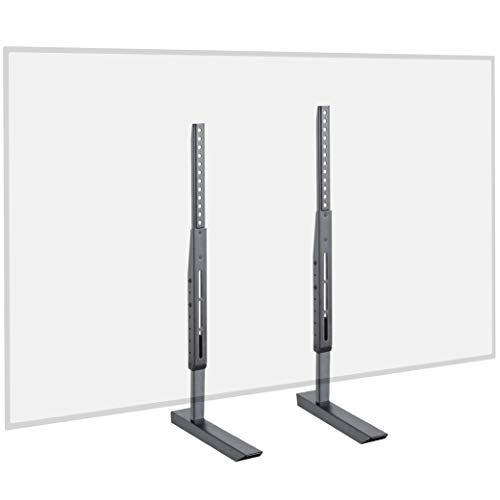 ECHOGEAR Universal Large TV Stand - Height Adjustable Base...