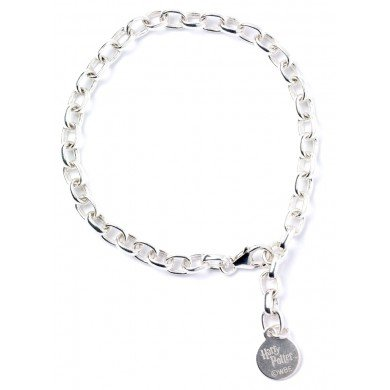 Harry Potter Sterling Silver Branded Charm Bracelet Adul