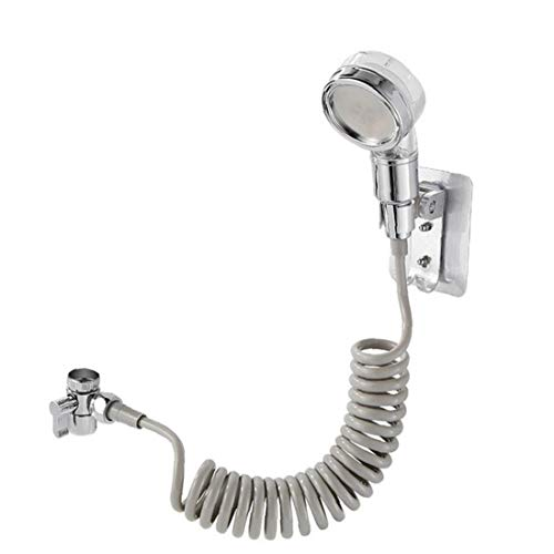 TOPofly Baño de Ducha Conjunto de Ducha de Alta presión orientable Ducha regadera de la Cabeza Accesorios de baño