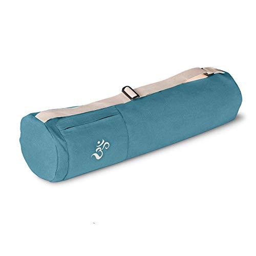 Lotuscrafts Bolsa Yoga Mysore - Justa y Ecológica - Funda Esterilla Yoga - Bolsa Esterilla Yoga - Bolsa para Esterilla De Yoga y Accesorios Yoga - Yoga Mat Bag