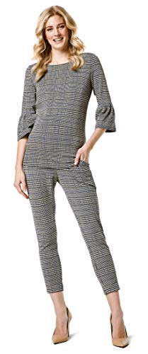 Esprit Maternity T-Shirt 3/4 SL YD Premaman, Multicolore (Black 001), XL Donna