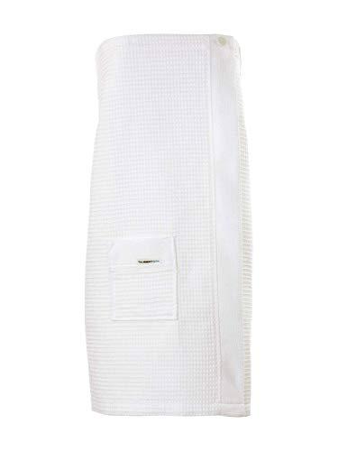 Taubert Thalasso Soft Piqué Damen Sauna Kilt, Länge 75cm Damen
