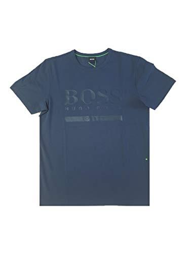 BOSS GreenCITY Regular FIT - Camiseta Print - London