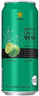 サッポロ チューハイ99.99 クリアライム 缶 500ml×24本入