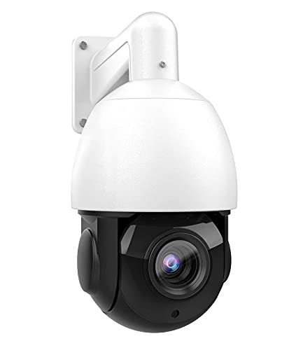 Compatible for Hikvision 4K Outdoor PTZ Security POE IP 8MP Camera,Pan/Tilt/4.7mm~84.6mm 18X Optical Zoom, 30X Digital Zoom,Smart IR Night Vision 164ft, Auto Cruise Detect, H.265,IP66 Waterproof