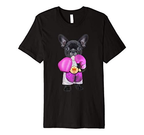 french bulldog funny French Bulldog Boxing Premium T-Shirt