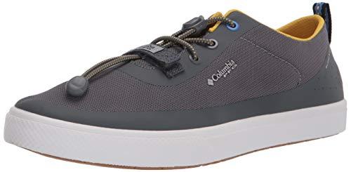 Columbia Men's Dorado CVO PFG Boat Shoe, Ti Grey Steel/Electron Yellow, 12