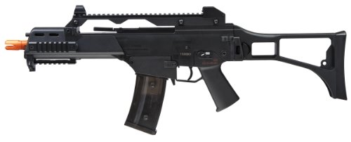 Elite Force HK Heckler & Koch G36 C AEG Automatic 6mm BB Rifle Airsoft Gun, Black