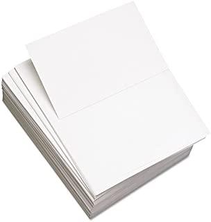 Custom Cut-Sheet Copy Paper, 92 Brightness, 20lb, 8-1/2x11, White, 2500/Carton