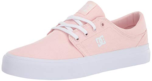 DC Women's Trase Skate Shoe, Living Coral, 6.5