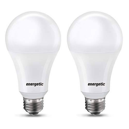 A21 LED Bulb 150 Watt Equivalent, Super Bright Light Bulb, Soft White 2700K, Non-Dimmable, 2300lm, Brightest LED Bulbs, UL Listed, 2-Pack